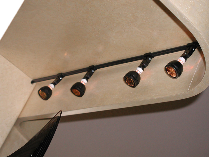 Display Cabinet Lighting Feature