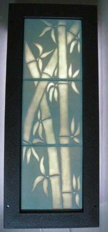 Custom Fabricated Illuminated Porcelain Tiles