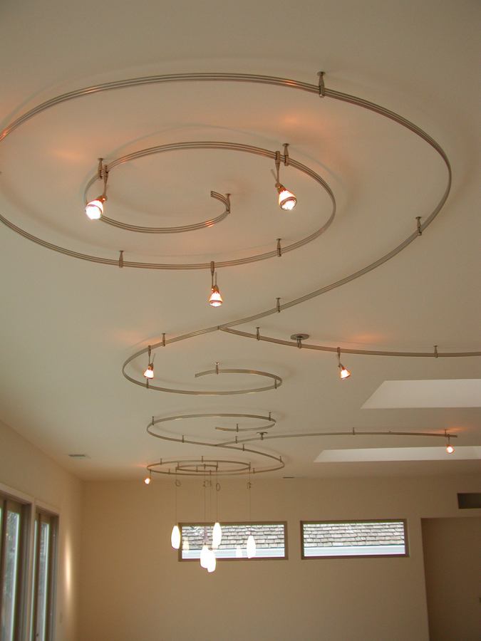 Custom 2 Circuit Monorail Lighting Sestak Design