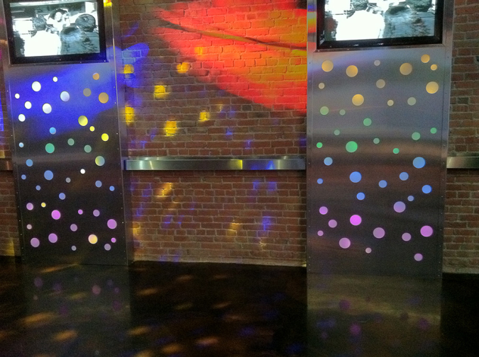 Custom Feature Lighting for Nightclub Dance Floor
