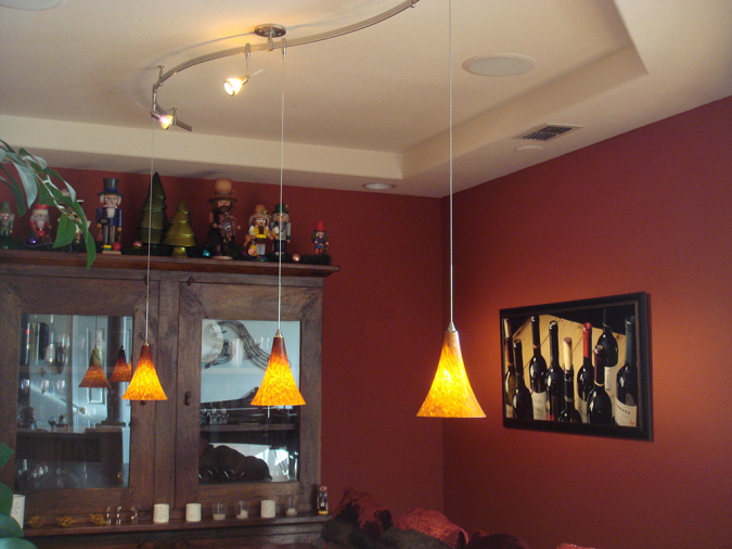 Custom 2 circuit monorail lighting with pendant lights sestak next pervious mozeypictures Choice Image