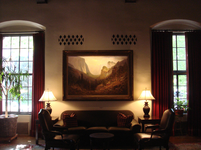 Sutter Club Artwork Lighting with Framing Projector