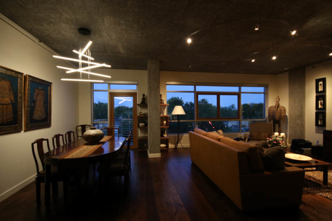 Residential Loft Lighting Sestak Design