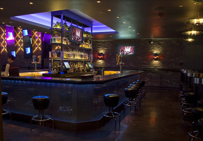 specialty lighting for badlands bar and nightclub   sestak lighting Specialty Lighting